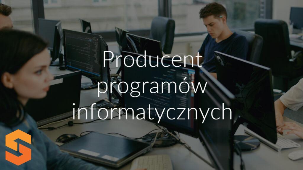 Producent programów informatycznych